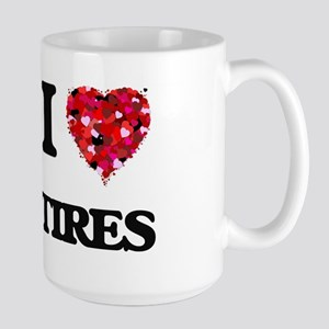 I love Tires Mugs